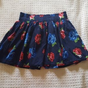 Abercrombie & Fitch Floral Spring Mini Skirt